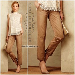 Anthropologie Pilcro & the Letterpress chinos
